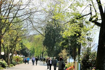 Coaching en marchant Montreux au bord du lac Léman